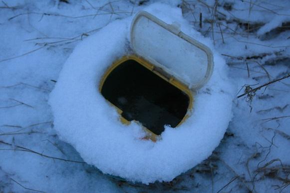Zanderangeln im Winter