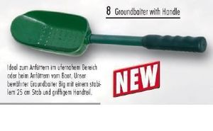 Pelzer Big Groundbaiter + Handle Futterschaufel + Stab