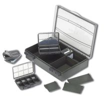 Fox F Box Deluxe Medium Single Box Tacklebox System