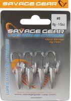 Savage Gear LRF Micro sandeel Jigghead - 4 x 6g Jighaken