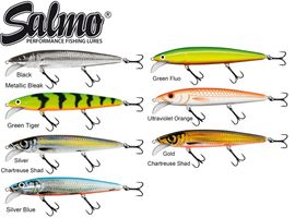 Salmo Whacky Floating - Wobbler