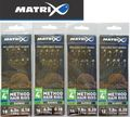 Fox Matrix Feeder Rigger Method Hair Rigs - 8 gebundene Feederhaken