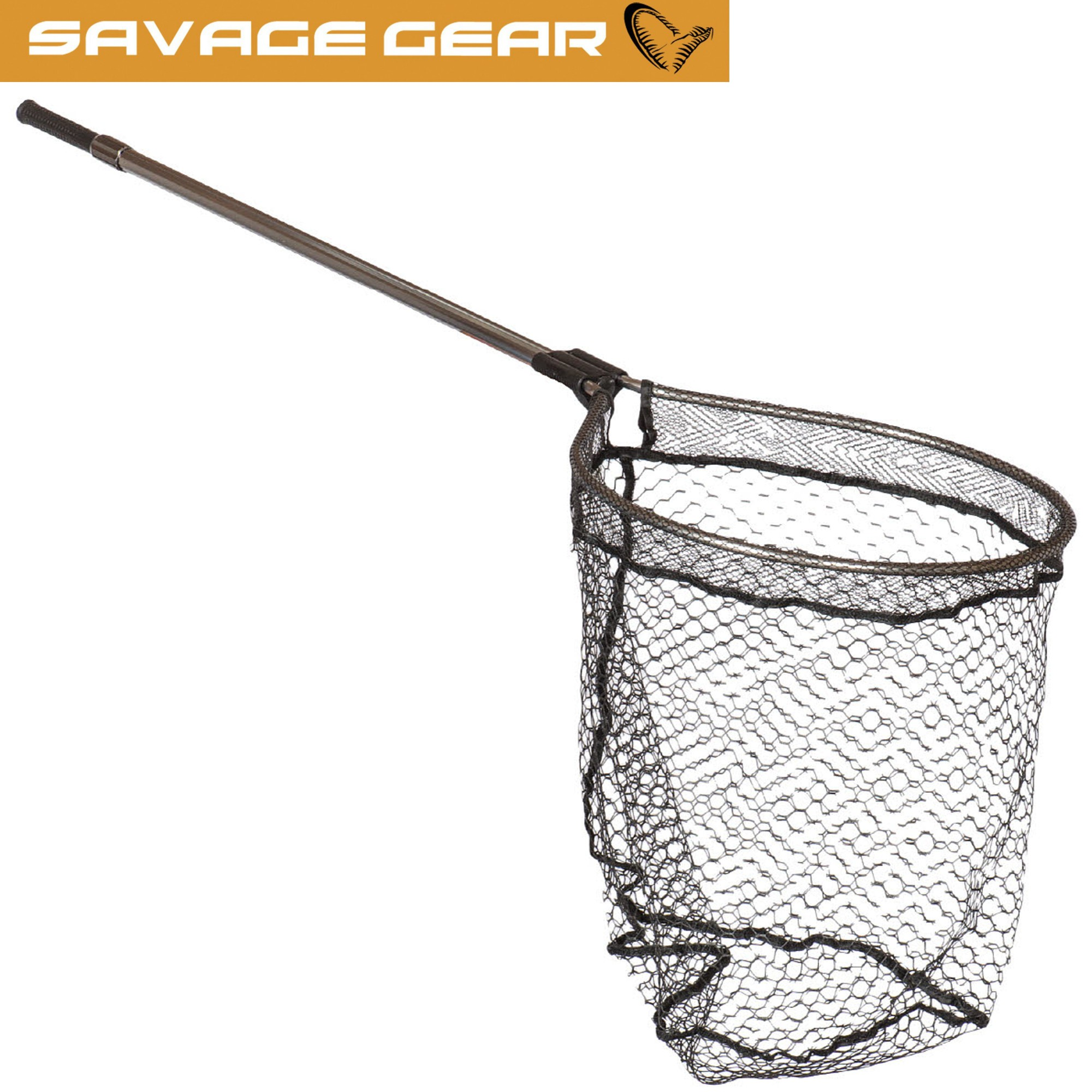 Savage Gear Full Frame Oval Landing Net 46x56cm - Unterfangkescher