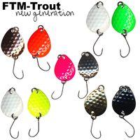 FTM Bilg Spoon - 2 Plättchen 1,7g Forellenblinker