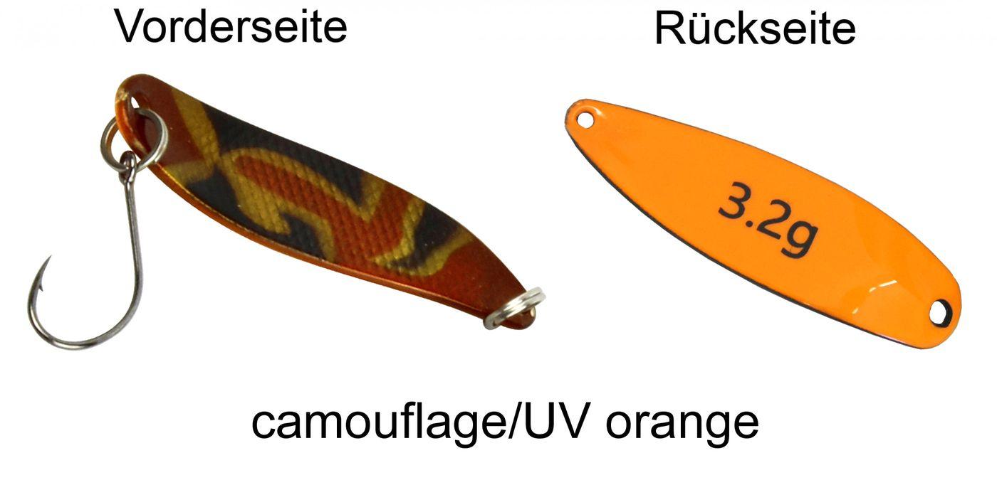 Kunstköder Forellenköder Set Spinnköder 4 FTM 3,3cm 2,4g Spoon Hammer Köder