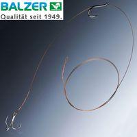 Balzer Matzes Einzelhaken & Drilling Kombi Rig 70cm 9kg - Hechtrig
