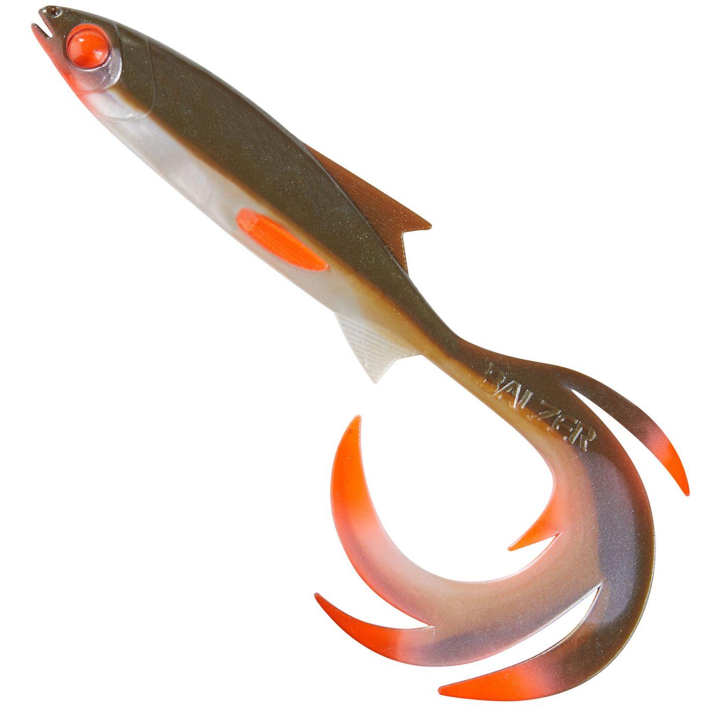 Balzer Shirasu Reptile Shad Print UV Booster Gummifisch Barsch Zander Hecht