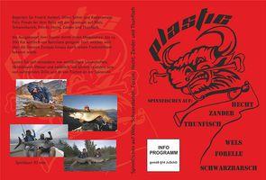 Plastic DVD - Angelfilm übers Spinnfischen auf Zander, Hecht, Forelle, Wels, Schwarzbarsch &Thunfisch in Spanien