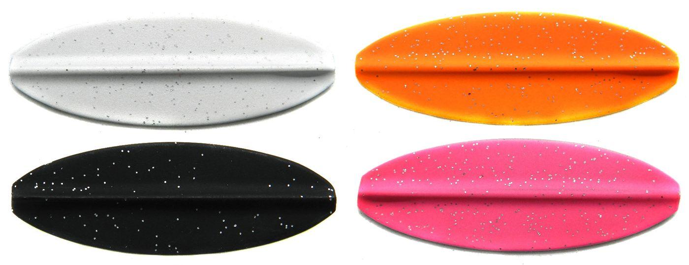 Forellenköder zum Blinkern Forellenblinker Set 4 Paladin Durchlaufblinker 3,5g