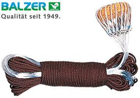 Balzer Aalschnüre - Montage zum Aalangeln