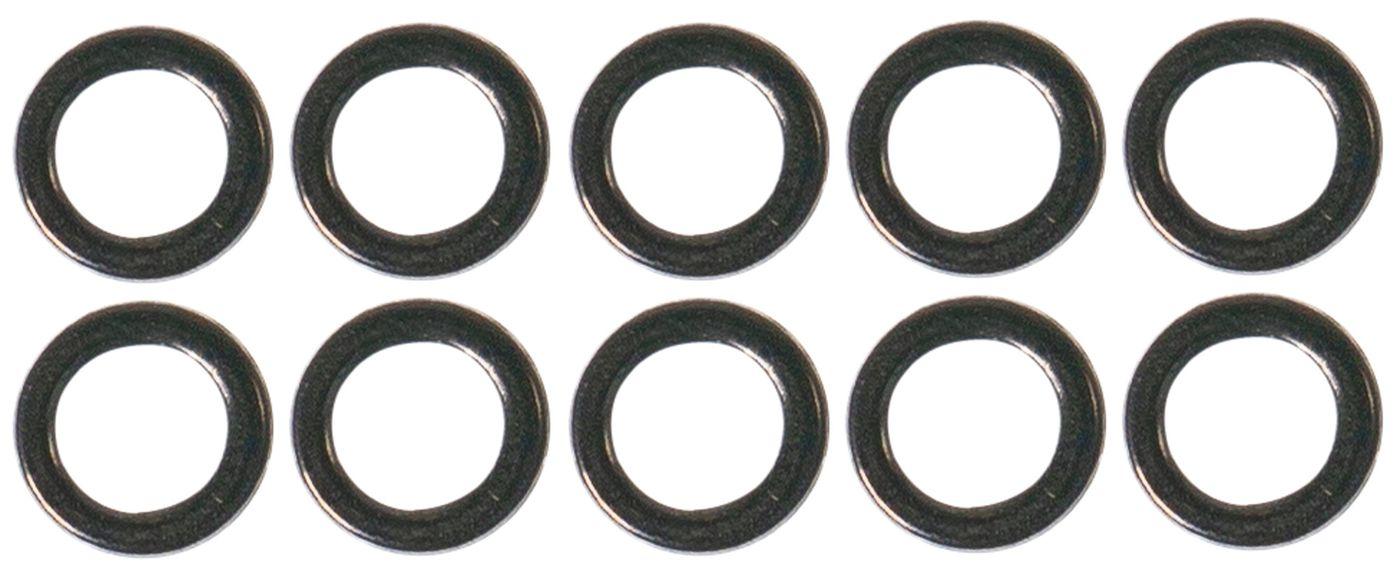 Zeck Solid Ring 43kg 10 Verbindungsringe zum Vertikalangeln Wallerzubehör