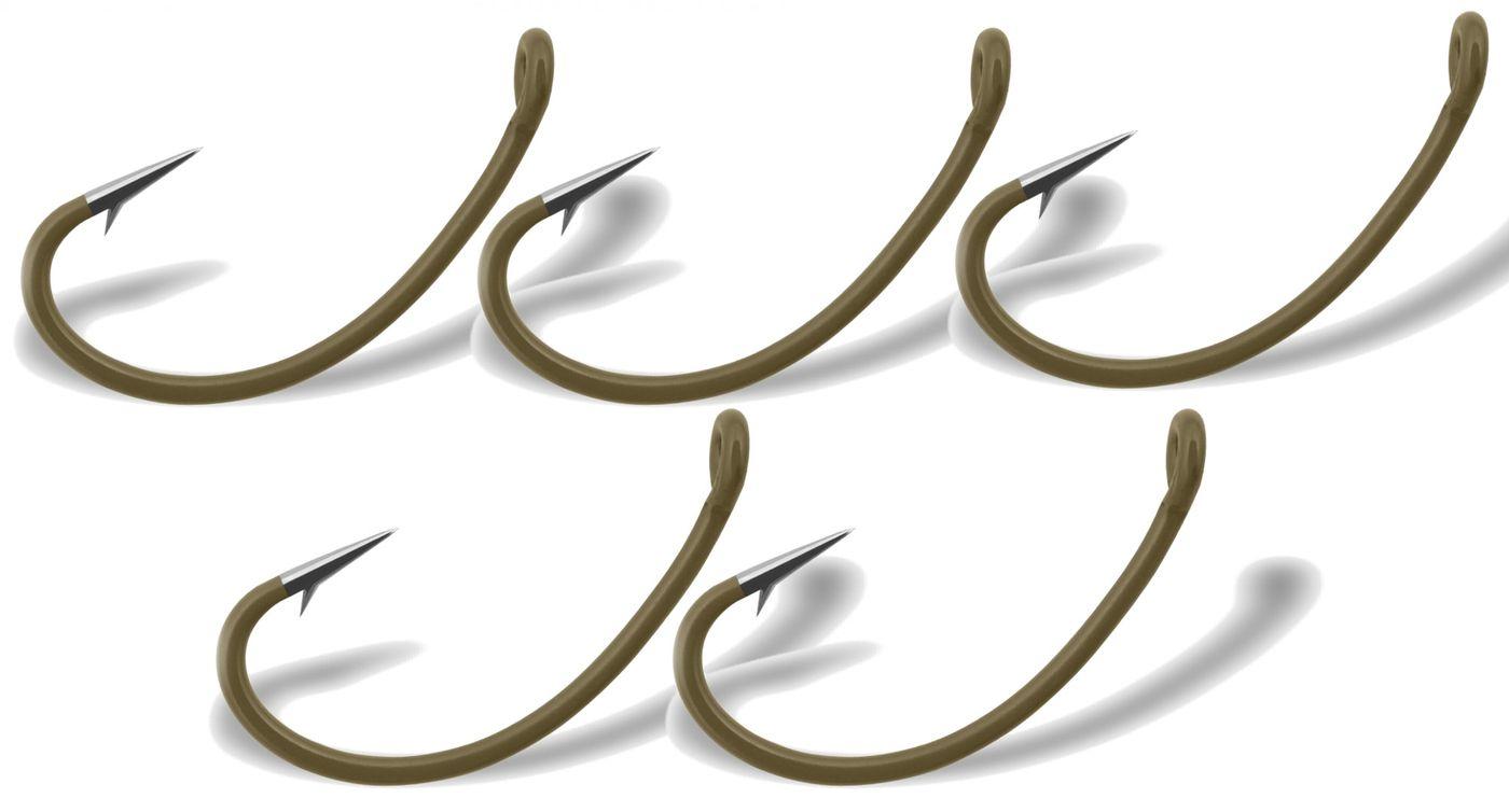 Gurza Yamato C Ring Friedfischhaken Einzelhaken Angelhaken 5 Karpfenhaken