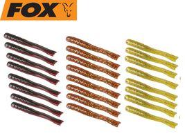 18 Fox Dropshot Lure Köder Grub Gummifische Set