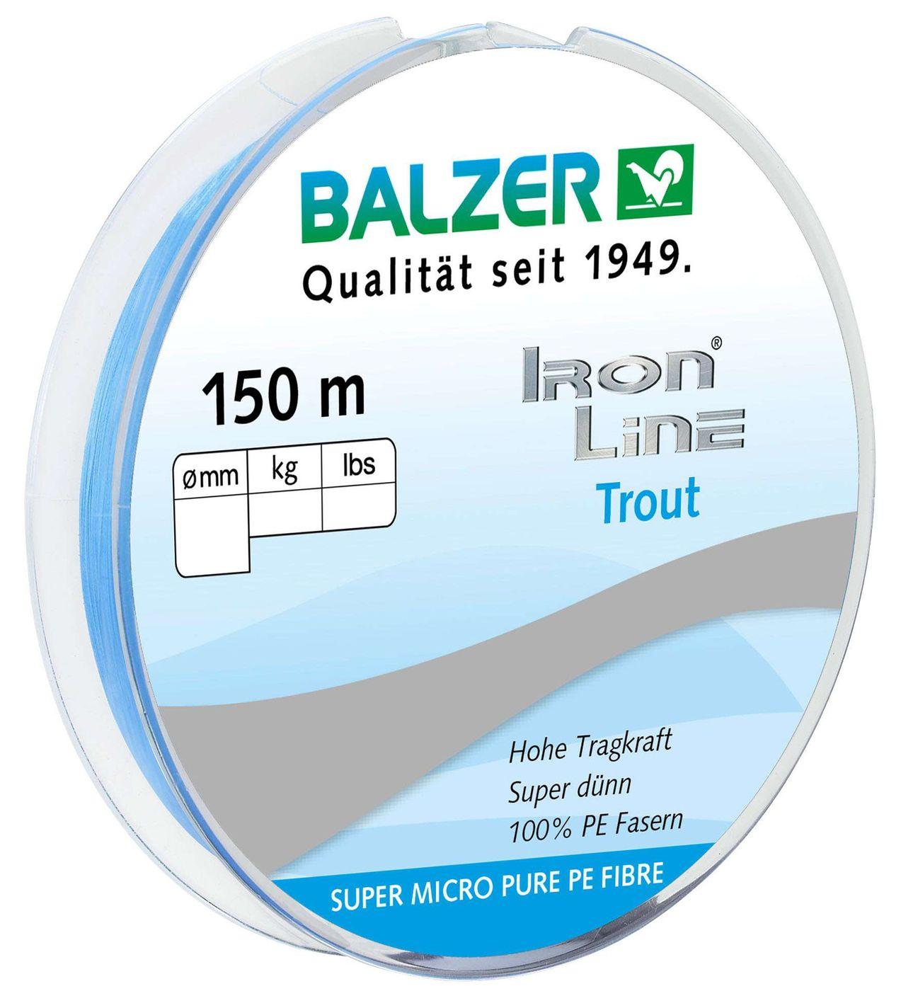 0,20€//1m Paladin Fluorocarbon Vorfachschnur 30m 0,20mm 8kg Forellenschnur