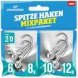 Lieblingsköder Spitze Haken Mixpaket 2/0 - 4 Jigköpfe
