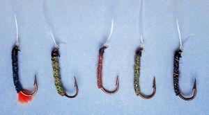 Moser Hegene 175cm Haken Gr. 10 für Renken Forellen