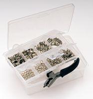 310 Springringe Sprengringe inkl. Zange und Aufbewahrungsbox