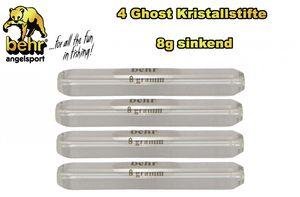 4 Ghost Kristallstifte 8g sinkend Forelle