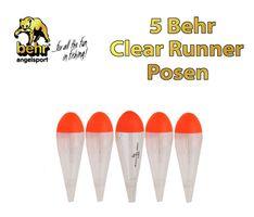 5 Behr Clear Fat Posen Hecht Forelle Zander 8g