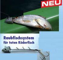 Raubfisch System Bleikopf Köderfischsystem 12-15cm