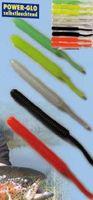 10 Soft Stripes Forellenköder 4,5cm Sbirulinoköder