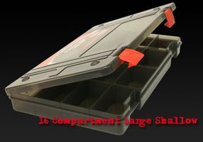 Fox Rage Stack 'N' Store Lure Box 16 Comp Large Shallow