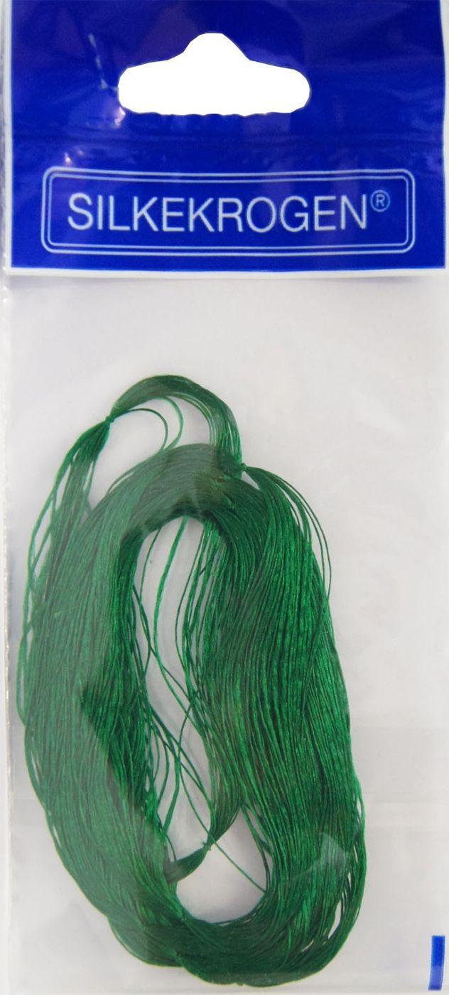 10 Stück Silkekrogen Angeln Hornhecht Garn Farbe grün