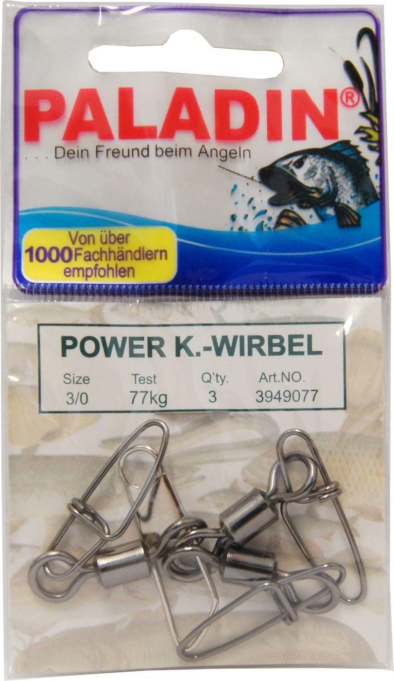 Sicherheitskarabiner Wirbel,Power Wirbel,gr.6 19kg Tragkraft 1xPackung mit 10St/ück