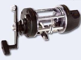 Multirolle Norwegen Rechtshand Multi Rolle Meeresangeln inkl. Schnurzähler/ Tiefenmesser 400m/0,40mm