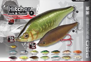 Fox Rage Hitcher Jerk & Twitch Wobbler Jerkbait schwimmend