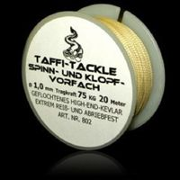 Taffi Tackle Spinn- und Klopfvorfach 20m 75kg 1,0mm