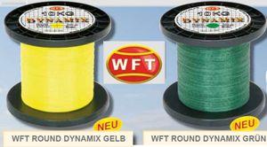 WFT Round Dynamix 1000m geflochtene Angelschnur