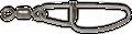Zeck Stainless Steel Swivel + Snap Wallerwirbel