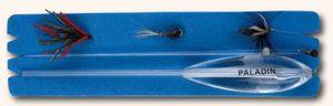 Spirolino 12g sinkende Forellenmontage inkl. 3 Fliegen