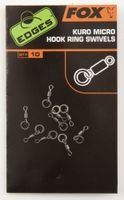 Fox Edges Micro Hook Ring Swivels Wirbel - 10 Stück