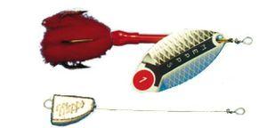 Mepps Lusox Spinner Gr. 0 silber 7g Bleikopfspinner