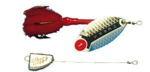Mepps Lusox Spinner Gr. 2 silber 16g Bleikopfspinner