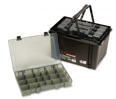 Meiho Versus VS 9030 - 4x Angelbox + Transporthilfe