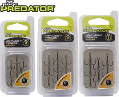 Fox Rage Predator Powerpoint Lightweight Trebles Drillinge