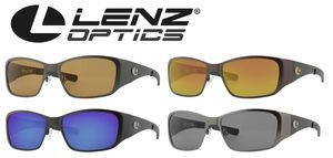 Lenz Optics Litza Titan / Carbon Sunglass - Polbrille