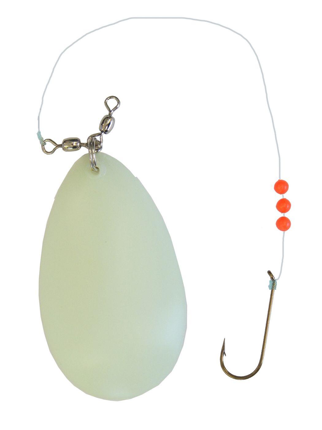 Balzer Plattfisch-Blinker oran//gelb 40g