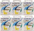 Maruto Forellenhaken Sbirulino 2m - 8 Haken für Forelle
