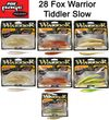 28 Fox Rage Warrior Tiddler Slow Gummifische 12cm