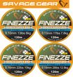Savage Gear Finezze HD4 Braid 120m geflochtene Schnur gelb