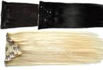 30cm Clip In Haarverlängerung 7 Tlg. Remy Echthaar 60 Gramm XS Set